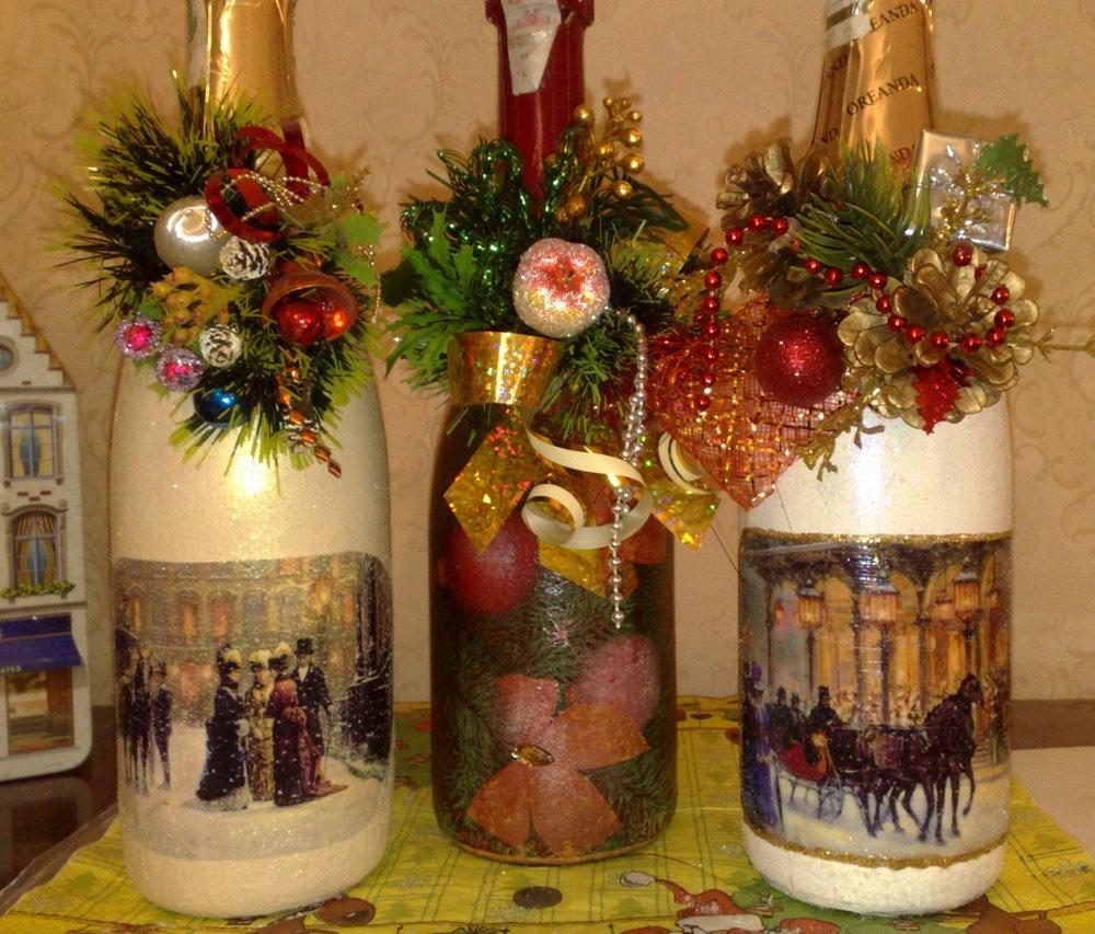 Декор новогодней елки своими руками